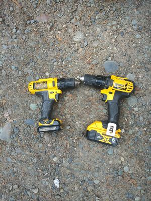 Dewalt 12 and 18v drills for Sale in Seattle, WA