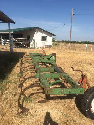16' Chisel plow. 15 shanks in working order. $1100 OBO or trade for 4 Wheeler that runs. for Sale in Abilene, TX