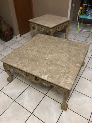 Coffee and end table for Sale in Bellflower, CA