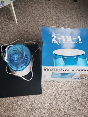 Crane- Humidifier and Inhaler for Sale in Cypress, TX