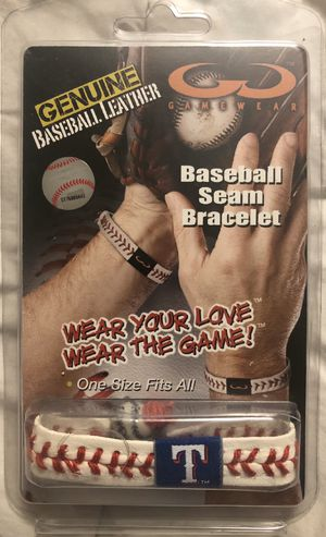 Texas Rangers Baseball Seam Bracelet for Sale in Hacienda Heights, CA