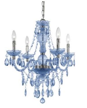 Blue Chandelier, pendant, light Brand New RETAIL $120 for Sale in Miami, FL