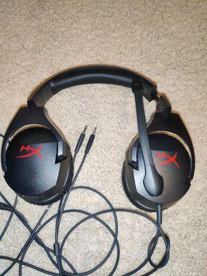 Hyper X headphones, gaming headset for Sale in Everett, WA
