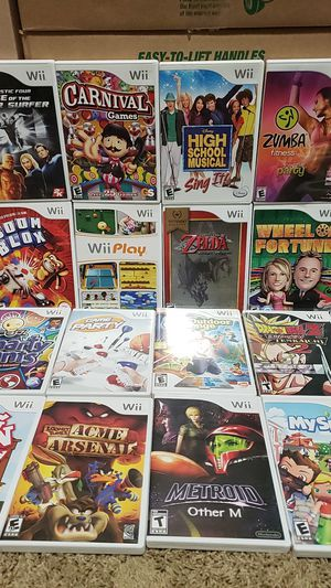 WII games for Sale in Clackamas, OR
