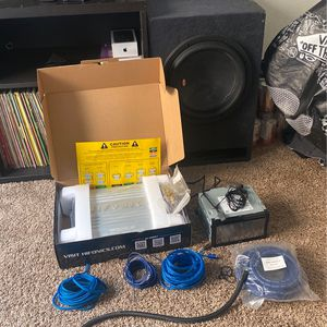 Hi Powered Car Audio System (Complete) for Sale in San Diego, CA