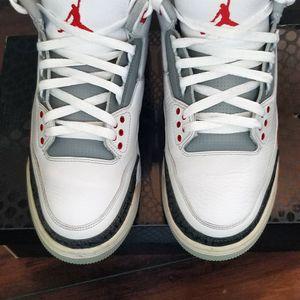 Jordan 3 Retro Fire Red Size 10.5 for Sale in Sloan, NV