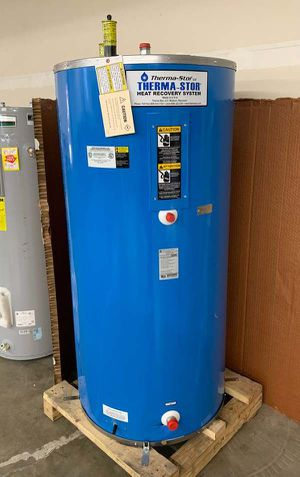 114 gallon THERMA-STOR WATER HEATER WITH WARRANTY GTEK for Sale in Fort Worth, TX