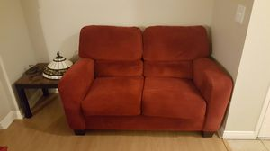 Dark Red Loveseat sofa/couch for Sale in Las Vegas, NV