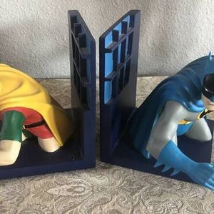 Warner Brothers Batman And Robin Book Ends New In Box for Sale in Los Angeles, CA