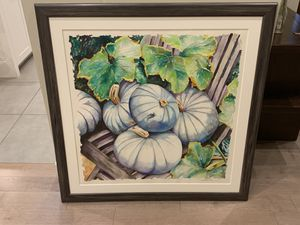 A large Blue Pumpkins original picture for Sale in Loyola, CA
