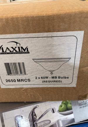 Maxim Light fixture for Sale in Stockton, CA