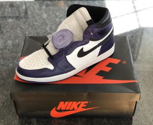 Jordan 1 Court Purple size 17 for Sale in Manchester, NH