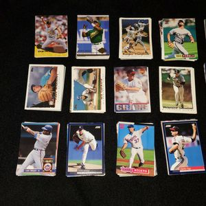 Baseball MLB Cards Years 89-95 Era Lot for Sale in San Jose, CA