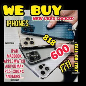 "iPhone 11 Pro 12 Pro Max iCloud Locked 12 Mini Xs Max 11 Pro Max 12 Pro Unlocked iPad 12.9""WiFi+cellular MacBook Pro 2020 Apple Watch 6 GPS/LTE New for Sale in Los Angeles, CA"