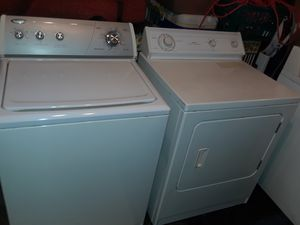 WHIRLPOOL Washer and Dryer Set!! Delivery Available!! Option of FREE Assembly of Appliance!! With 30 Day Warranty!! for Sale in Portsmouth, VA