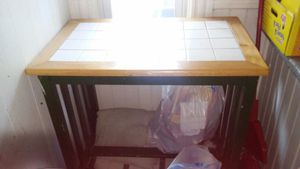 Kitchen island with stool for Sale in Worcester, MA