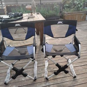 FOLDING CAMPING DIRECTOR CHAIR WITH Carrying BAG for Sale in Hacienda Heights, CA
