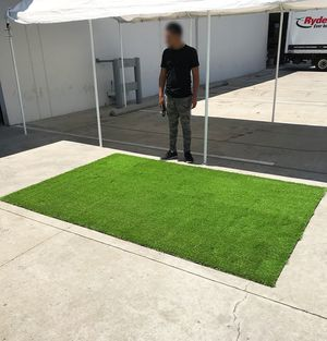 New $90 Synthetic 10'x6.6' ft Landscape Fake Grass Mat Artificial Pet Turf Lawn Garden Yard for Sale in El Monte, CA