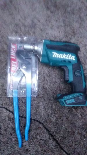 Makita fuel drywall drill channel lock for Sale in Bakersfield, CA