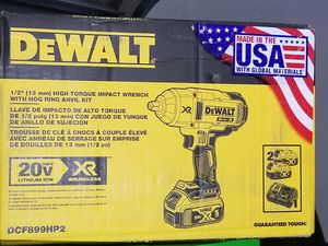 Dewalt impact wrench for Sale in Fresno, CA