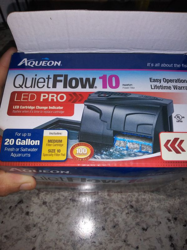 Aqueon 10 aquarium power filter