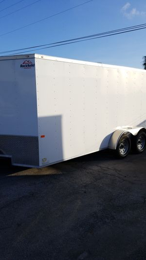 New Rock Solid 7x16 HD Cargo Trailer (free spare tire) for Sale in West Palm Beach, FL