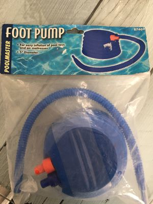 Pool Masters Foot Pump!! for Sale in Esparto, CA