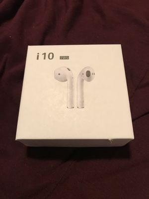BRAND NEW I10 TWS WIRELESS AIRPODS for Sale in San Antonio, TX