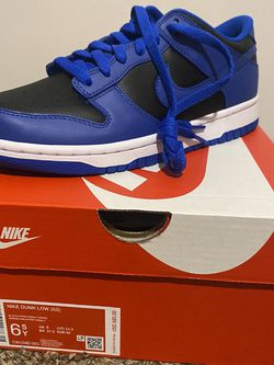 """Nike Dunk Low Retro """"cobalt"""" 6.5Y and 3Y for Sale in Groveport,  OH"""