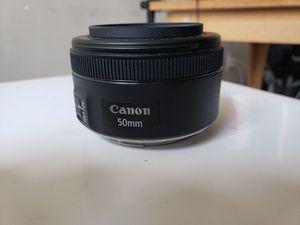 Canon 50mm 1.8 mark 2 stm for Sale in Atlanta, GA