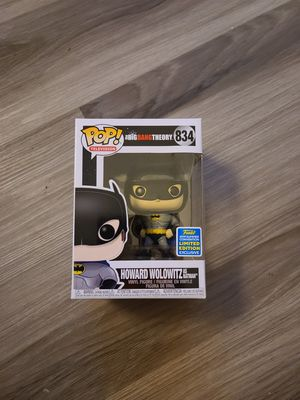 Funko Pop - Howard Wolowitz as Batman $45 (Big Bang Theory) for Sale in West Covina, CA