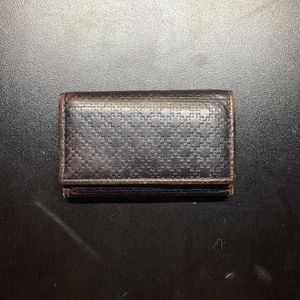 Gucci Diamante Black Leather Key Wallet for Sale in Chicago, IL