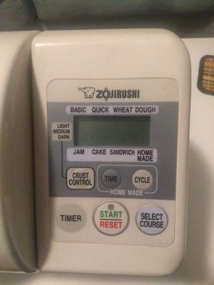 Zojirushi BBCC-V20 Home Bakery Bread Maker for Sale in Norfolk, VA
