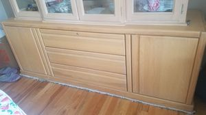 Solid wood buffet for Sale in Naperville, IL