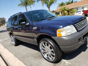 """03 Ford Explorer, clean title, registered, smogged, low miles, 22""""rims, clean and reliable for Sale in Spring Valley, CA"""