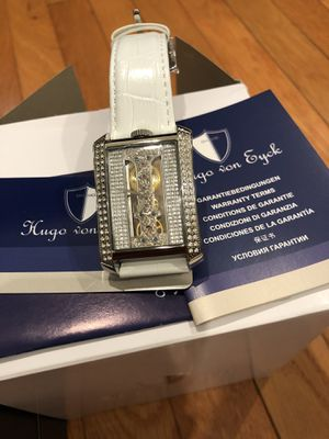 Hugo Eyck Libra Ladies manual winding watch HE111-106 Stainless Steel for Sale in Centreville, VA