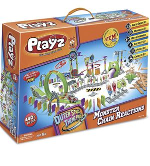Huge STEM play set marble run Monster Chain Reactions for Sale in Loma Linda, CA