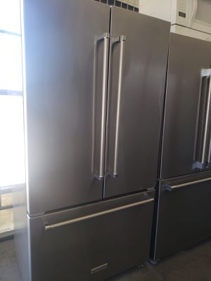 KitchenAid Refrigerator Fridge 36 in. Wide Free Delivery #793 for Sale in Ontario, CA