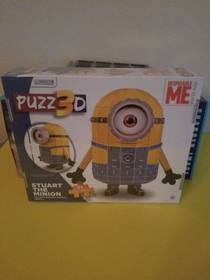 Brand new sealed in Box 3-D Minion Stewart puzzle for Sale in VLG WELLINGTN, FL
