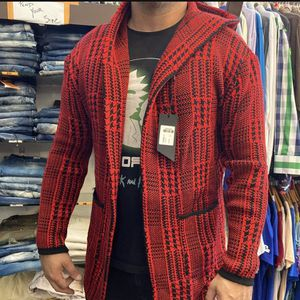 Men's Long Hoodie Jacket Designer Euro Collection Store Pick Up Sizes Small Medium Large XL for Sale in Beverly Hills, CA