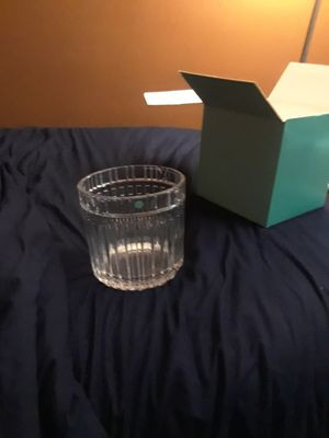 Tiffany & Co. Class Large Glass container for Sale in New York, NY