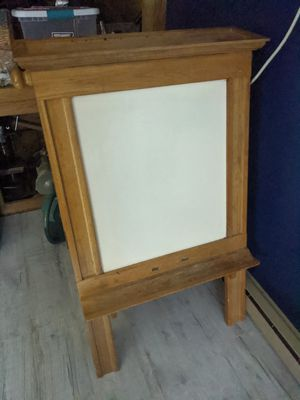 Whiteboard and chalkboard easel for Sale in Lima, OH