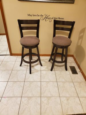 Two bar stools for Sale in Shelby Charter Township, MI