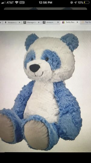 "Teddy Bear Stuffed Animal Large Plush Panda Blue & White, 14.5"" Spark. Create. for Sale in Miami, FL"