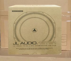 """JL Audio Slim Subwoofer Driver 12"""" Inch TW1 Series 4-Ohm Series 600watts 🚨 90 Day Payment Options Available for Sale in Los Angeles, CA"""