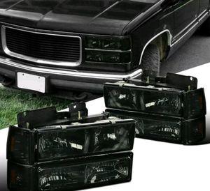 Obs GMC Sierra 94-98 new smoke headlights for Sale in Fresno, CA