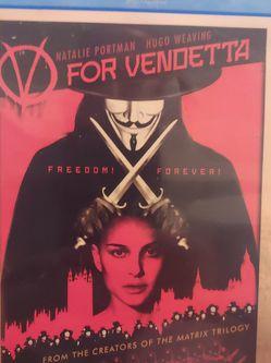 V For Vendetta Blu-Ray DVD Movie for Sale in New Smyrna Beach,  FL