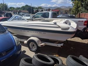 2000 Bayliner Capri 17ft boat AND trailer for Sale in Lakewood, CO