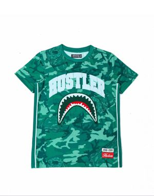 KIDS CAMO SHARK MOUTH SHIRT for Sale in Bartonsville, PA