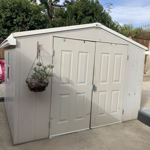 Shed, Metal 8'wide X 10' Long for Sale in Upland, CA